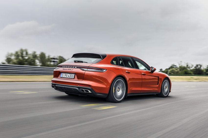 2020 Porsche Panamera facelift – 630 PS/820 Nm Turbo S; PHEV 4S E-Hybrid with 54 km electric range Image #1167470