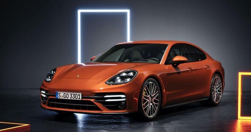 2020 Porsche Panamera facelift – 630 PS/820 Nm Turbo S; PHEV 4S E-Hybrid with 54 km electric range Image #1167171