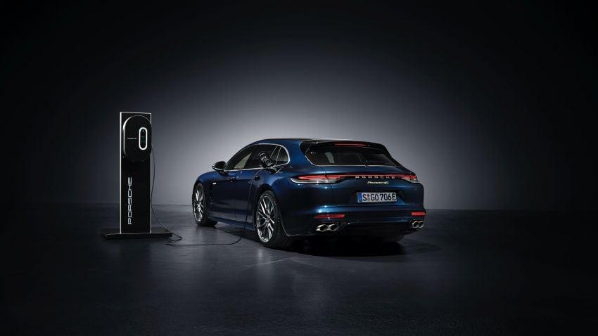 2020 Porsche Panamera facelift – 630 PS/820 Nm Turbo S; PHEV 4S E-Hybrid with 54 km electric range Image #1167183