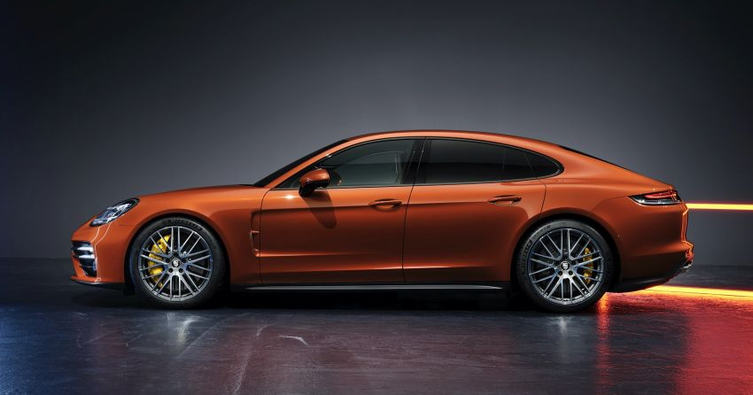 2020 Porsche Panamera facelift – 630 PS/820 Nm Turbo S; PHEV 4S E-Hybrid with 54 km electric range Image #1167179