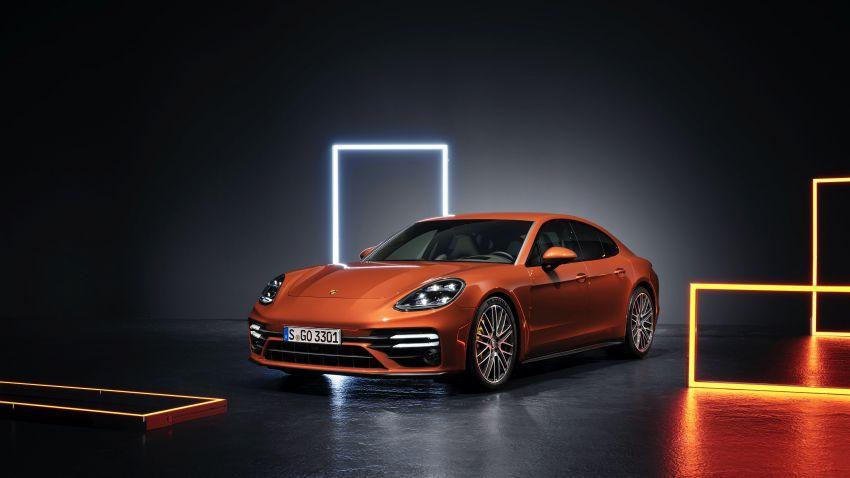 2020 Porsche Panamera facelift – 630 PS/820 Nm Turbo S; PHEV 4S E-Hybrid with 54 km electric range Image #1167178