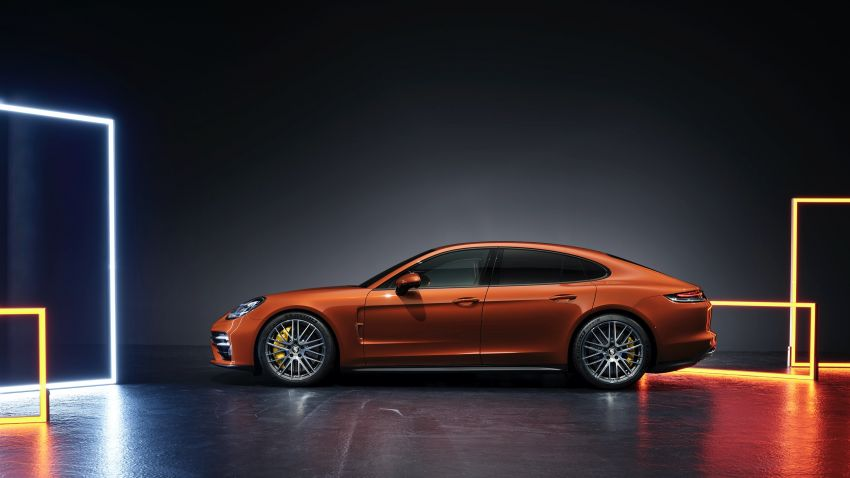 2020 Porsche Panamera facelift – 630 PS/820 Nm Turbo S; PHEV 4S E-Hybrid with 54 km electric range Image #1167170