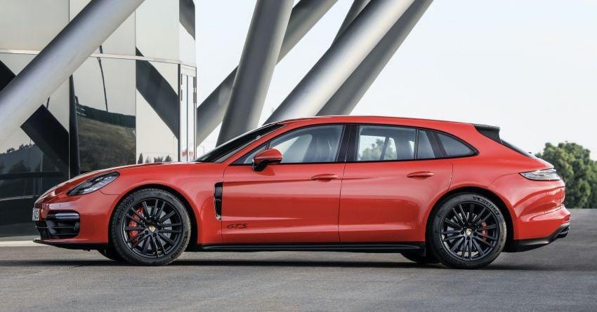 2020 Porsche Panamera facelift – 630 PS/820 Nm Turbo S; PHEV 4S E-Hybrid with 54 km electric range Image #1167173