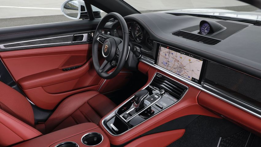 2020 Porsche Panamera facelift – 630 PS/820 Nm Turbo S; PHEV 4S E-Hybrid with 54 km electric range Image #1167190