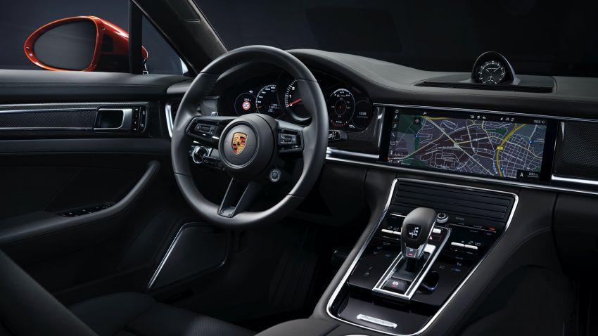 2020 Porsche Panamera facelift – 630 PS/820 Nm Turbo S; PHEV 4S E-Hybrid with 54 km electric range Image #1167189