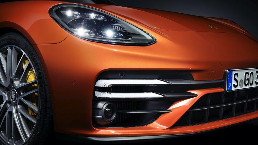 2020 Porsche Panamera facelift – 630 PS/820 Nm Turbo S; PHEV 4S E-Hybrid with 54 km electric range Image #1167192
