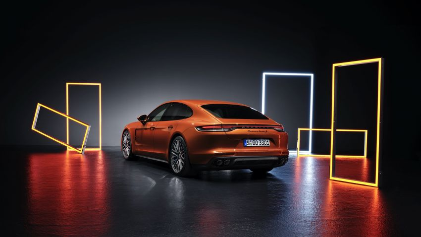 2020 Porsche Panamera facelift – 630 PS/820 Nm Turbo S; PHEV 4S E-Hybrid with 54 km electric range Image #1167169