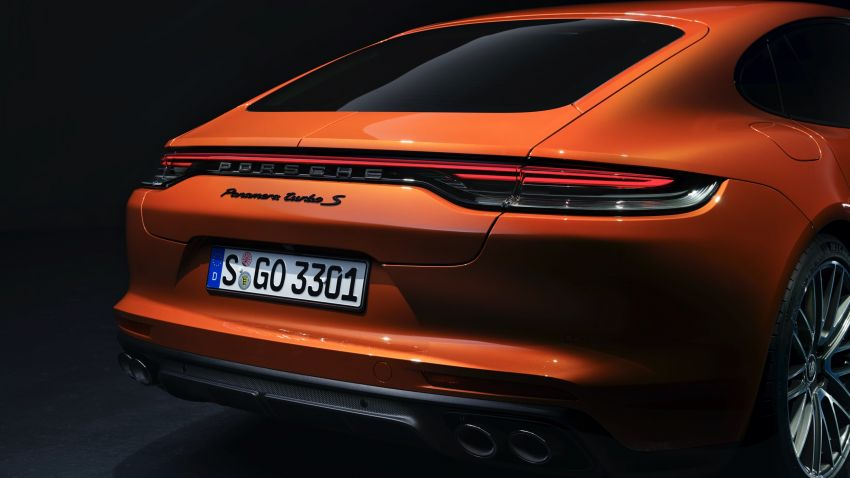 2020 Porsche Panamera facelift – 630 PS/820 Nm Turbo S; PHEV 4S E-Hybrid with 54 km electric range Image #1167168