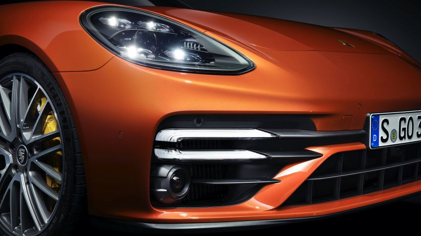2020 Porsche Panamera facelift – 630 PS/820 Nm Turbo S; PHEV 4S E-Hybrid with 54 km electric range Image #1167167