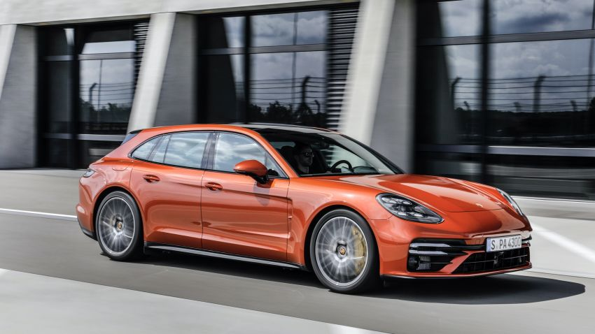2020 Porsche Panamera facelift – 630 PS/820 Nm Turbo S; PHEV 4S E-Hybrid with 54 km electric range Image #1167187
