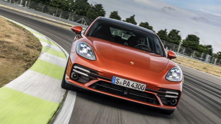 2020 Porsche Panamera facelift – 630 PS/820 Nm Turbo S; PHEV 4S E-Hybrid with 54 km electric range Image #1167186