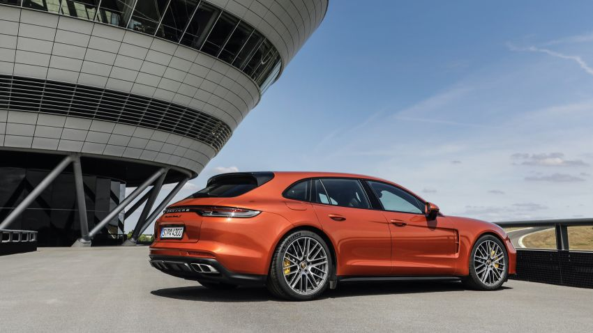 2020 Porsche Panamera facelift – 630 PS/820 Nm Turbo S; PHEV 4S E-Hybrid with 54 km electric range Image #1167185