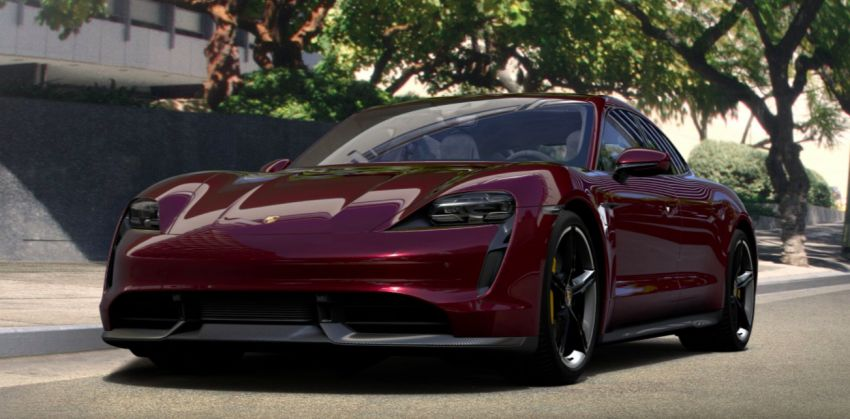 2021 Porsche Taycan – quicker acceleration, new charging functions, additional equipment and colours Image #1163901
