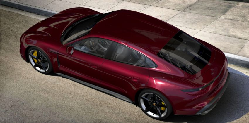 2021 Porsche Taycan – quicker acceleration, new charging functions, additional equipment and colours Image #1163899