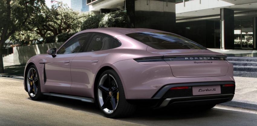2021 Porsche Taycan – quicker acceleration, new charging functions, additional equipment and colours Image #1163908