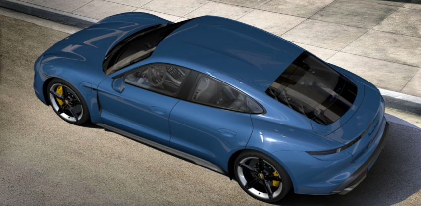 2021 Porsche Taycan – quicker acceleration, new charging functions, additional equipment and colours Image #1163891
