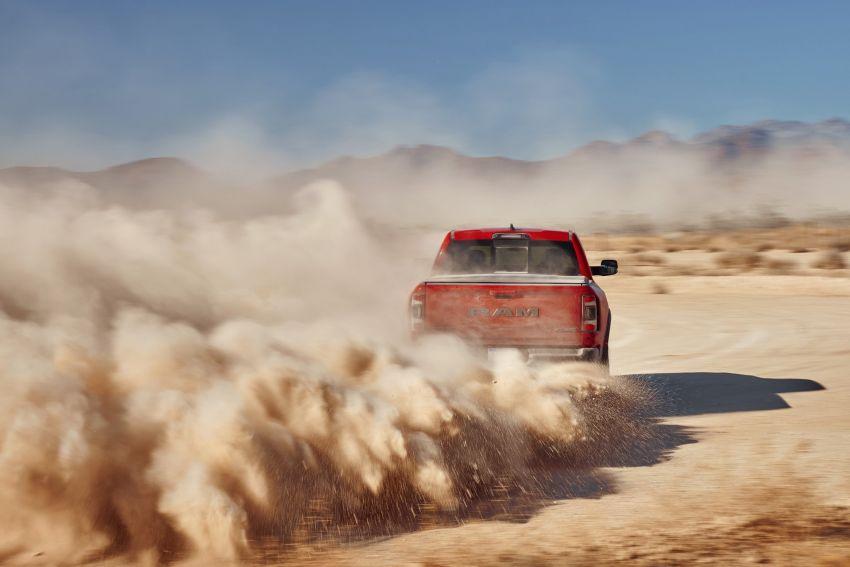 2021 Ram 1500 TRX debuts – 702 hp/881 Nm 6.2L V8, 0-96 km/h in 4.5s; more than 330 mm of wheel travel Image #1162780
