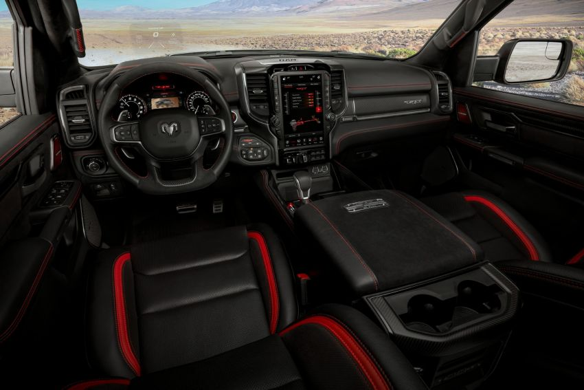 2021 Ram 1500 TRX debuts – 702 hp/881 Nm 6.2L V8, 0-96 km/h in 4.5s; more than 330 mm of wheel travel Image #1162761