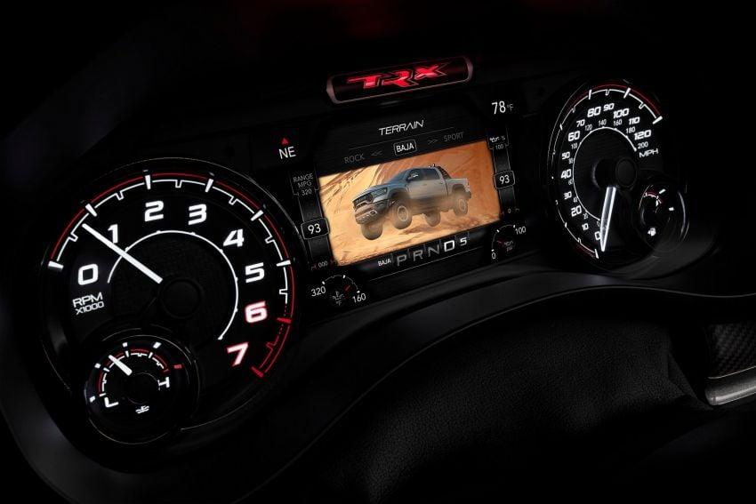 2021 Ram 1500 TRX debuts – 702 hp/881 Nm 6.2L V8, 0-96 km/h in 4.5s; more than 330 mm of wheel travel Image #1162747
