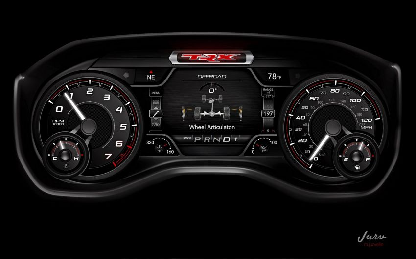 2021 Ram 1500 TRX debuts – 702 hp/881 Nm 6.2L V8, 0-96 km/h in 4.5s; more than 330 mm of wheel travel Image #1162744