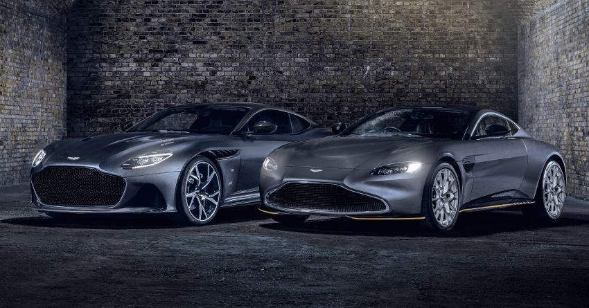 Aston Martin releases 007 Edition cars for <em>No Time to Die</em> – 100-unit Vantage and 25-unit DBS Superleggera Image #1161811