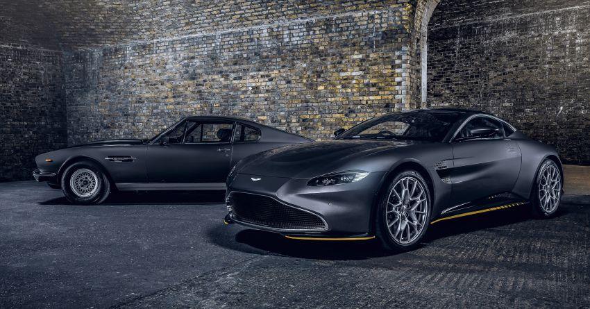 Aston Martin releases 007 Edition cars for <em>No Time to Die</em> – 100-unit Vantage and 25-unit DBS Superleggera Image #1161830