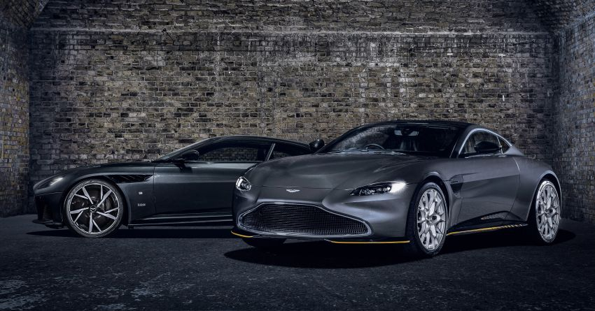 Aston Martin releases 007 Edition cars for <em>No Time to Die</em> – 100-unit Vantage and 25-unit DBS Superleggera Image #1161812