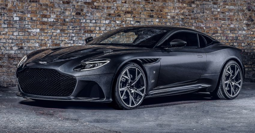 Aston Martin releases 007 Edition cars for <em>No Time to Die</em> – 100-unit Vantage and 25-unit DBS Superleggera Image #1161813