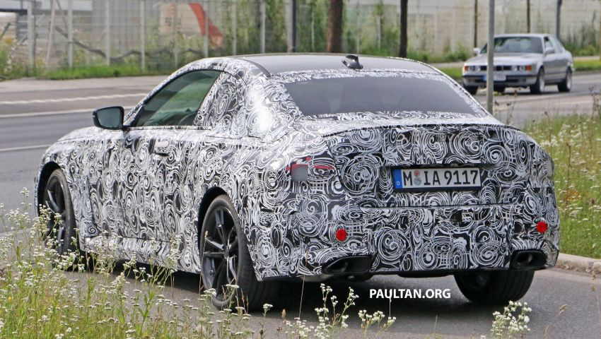 SPIED: Next BMW 2 Series Coupe seen, with interior Image #1157096