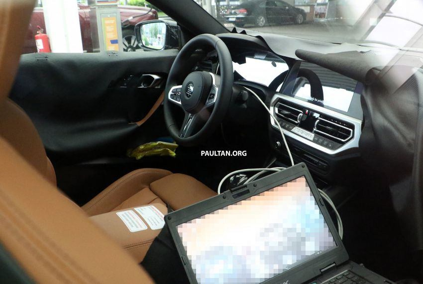 SPIED: Next BMW 2 Series Coupe seen, with interior Image #1157099