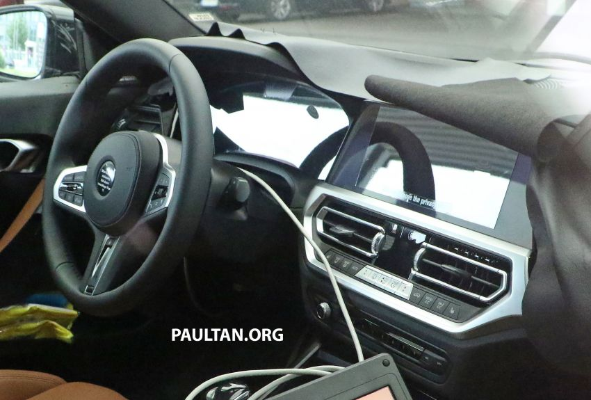 SPIED: Next BMW 2 Series Coupe seen, with interior Image #1157100