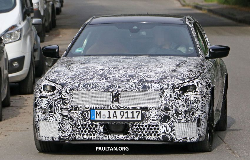 SPIED: Next BMW 2 Series Coupe seen, with interior Image #1157087