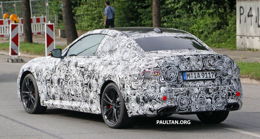 SPIED: Next BMW 2 Series Coupe seen, with interior Image #1157108
