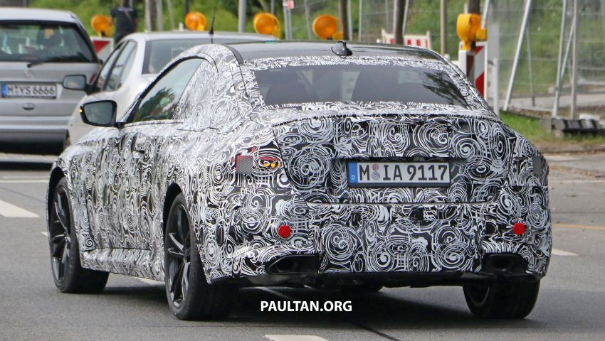SPIED: Next BMW 2 Series Coupe seen, with interior Image #1157110