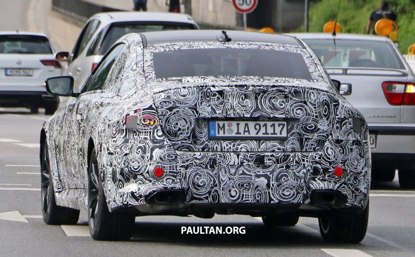 SPIED: Next BMW 2 Series Coupe seen, with interior Image #1157111