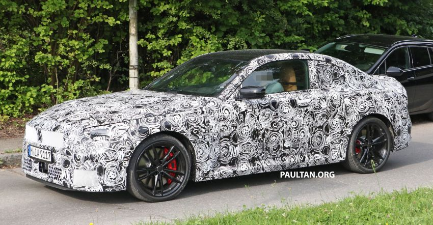 SPIED: Next BMW 2 Series Coupe seen, with interior Image #1157090
