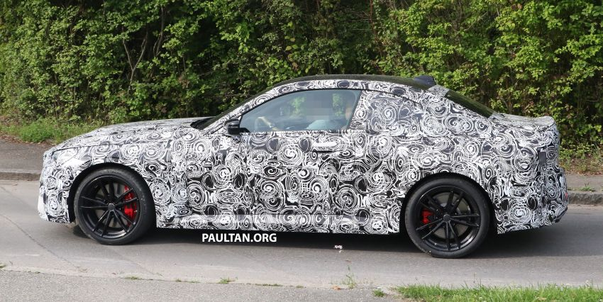 SPIED: Next BMW 2 Series Coupe seen, with interior Image #1157091