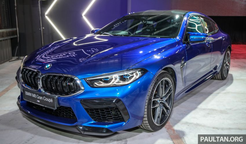 F92 BMW M8 Coupe, F93 M8 Gran Coupe launched in Malaysia – 600 hp and 750 Nm, priced from RM1.45 mil Image #1161008