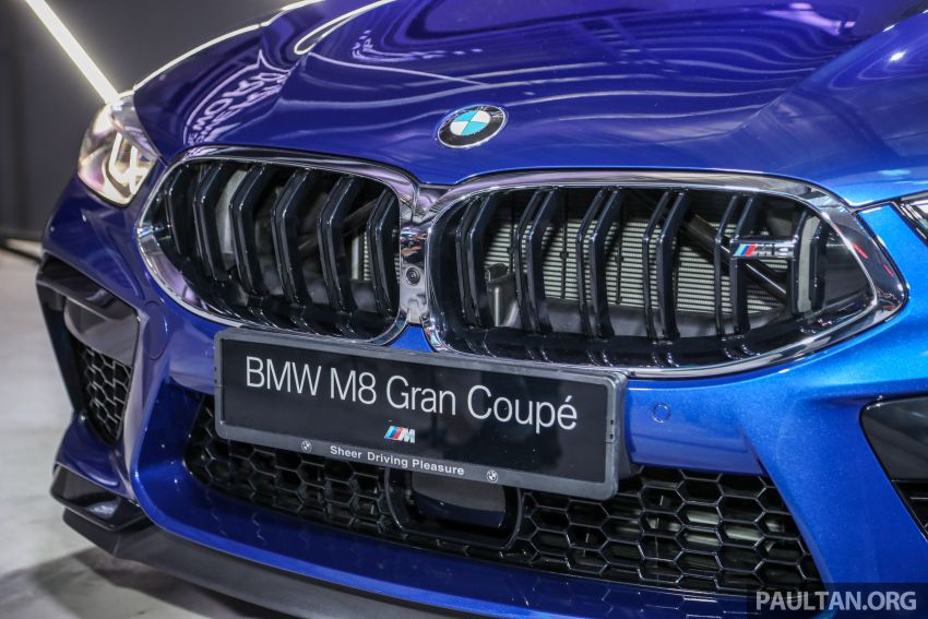 F92 BMW M8 Coupe, F93 M8 Gran Coupe launched in Malaysia – 600 hp and 750 Nm, priced from RM1.45 mil Image #1161017