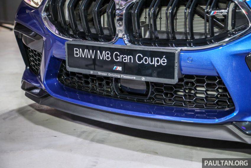 F92 BMW M8 Coupe, F93 M8 Gran Coupe launched in Malaysia – 600 hp and 750 Nm, priced from RM1.45 mil Image #1161018