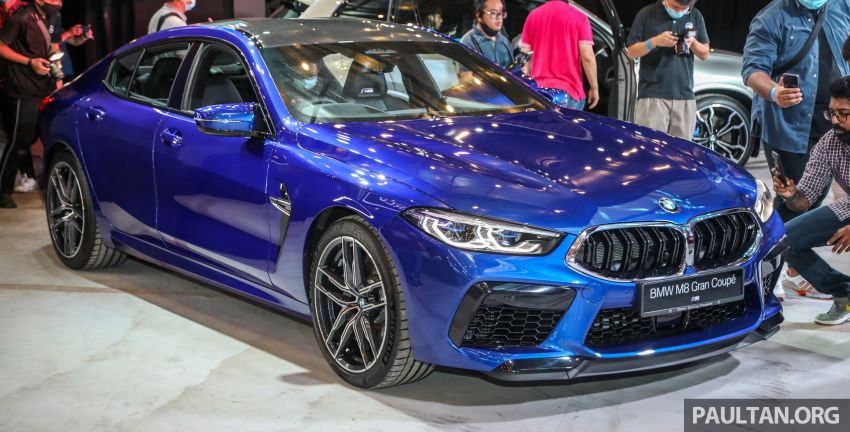 F92 BMW M8 Coupe, F93 M8 Gran Coupe launched in Malaysia – 600 hp and 750 Nm, priced from RM1.45 mil Image #1161009