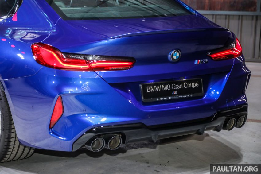 F92 BMW M8 Coupe, F93 M8 Gran Coupe launched in Malaysia – 600 hp and 750 Nm, priced from RM1.45 mil Image #1161042