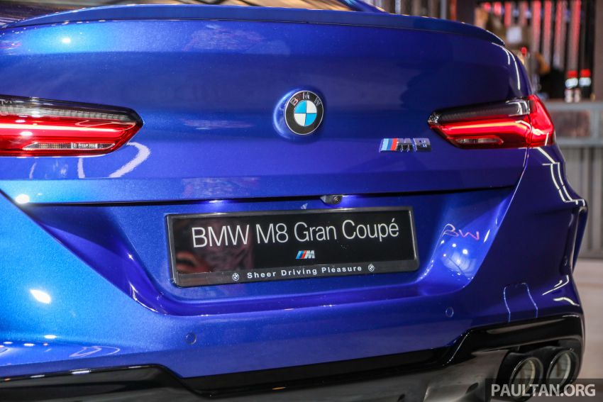 F92 BMW M8 Coupe, F93 M8 Gran Coupe launched in Malaysia – 600 hp and 750 Nm, priced from RM1.45 mil Image #1161050