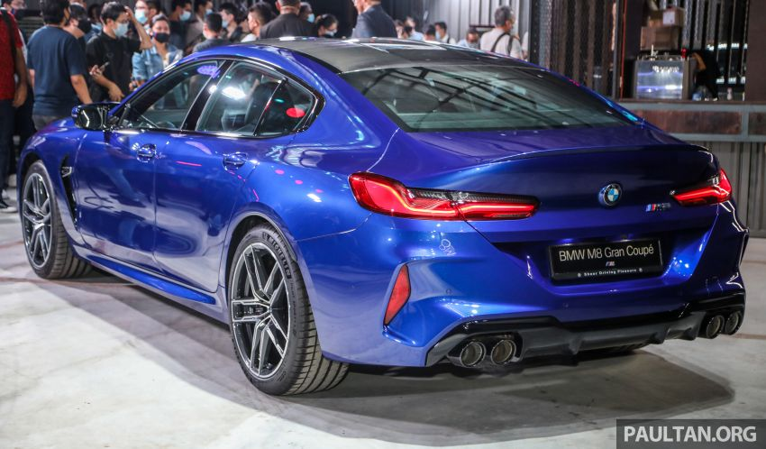 F92 BMW M8 Coupe, F93 M8 Gran Coupe launched in Malaysia – 600 hp and 750 Nm, priced from RM1.45 mil Image #1161010