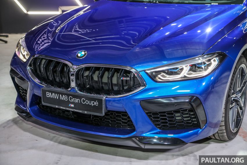 F92 BMW M8 Coupe, F93 M8 Gran Coupe launched in Malaysia – 600 hp and 750 Nm, priced from RM1.45 mil Image #1161013
