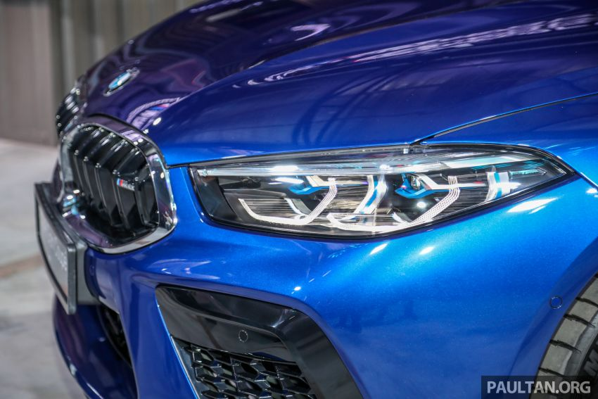 F92 BMW M8 Coupe, F93 M8 Gran Coupe launched in Malaysia – 600 hp and 750 Nm, priced from RM1.45 mil Image #1161015
