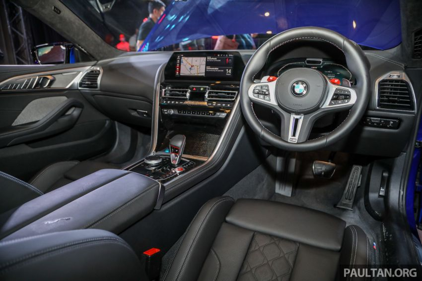 F92 BMW M8 Coupe, F93 M8 Gran Coupe launched in Malaysia – 600 hp and 750 Nm, priced from RM1.45 mil Image #1161099