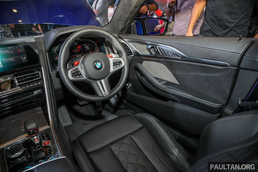 F92 BMW M8 Coupe, F93 M8 Gran Coupe launched in Malaysia – 600 hp and 750 Nm, priced from RM1.45 mil Image #1161102