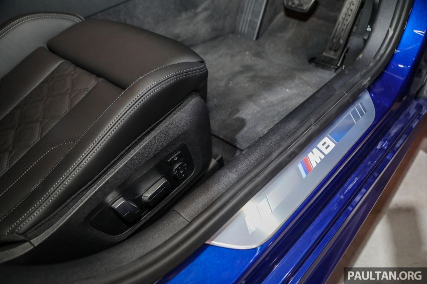 F92 BMW M8 Coupe, F93 M8 Gran Coupe launched in Malaysia – 600 hp and 750 Nm, priced from RM1.45 mil Image #1161121