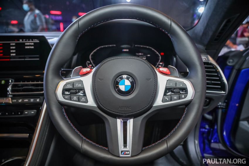 F92 BMW M8 Coupe, F93 M8 Gran Coupe launched in Malaysia – 600 hp and 750 Nm, priced from RM1.45 mil Image #1161065